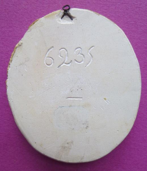 Moulage du sceau armorié de Louis de Bourbon, deuxième duc et cardinal de Vendôme (titre d'usage)