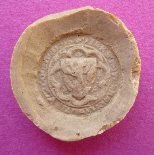 Moulage d'un contre-sceau armorié d'un comte de Vendôme (titre d'usage)_0