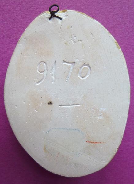 Moulage du sceau d'Antoine de Crevant, abbé de la Trinité de Vendôme (titre d'usage)