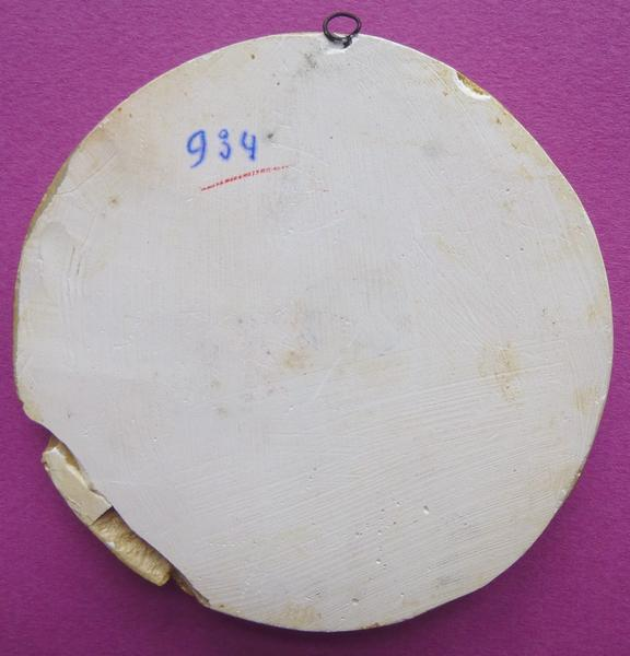 sceau, empreinte : Moulage du sceau de Louis d'Orléans (titre d'usage)