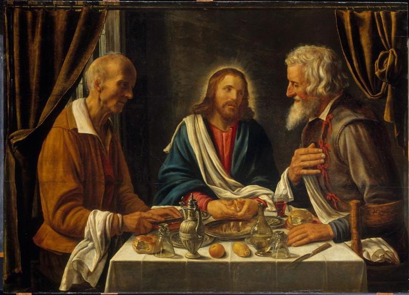Le Christ et les pèlerins d'Emmaüs_0