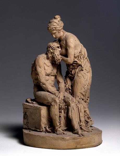 MARIN Joseph Charles : La Charité romaine