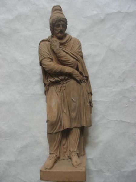 DELAISTRE François Nicolas (sculpteur) : Prisonnier dace farnèse