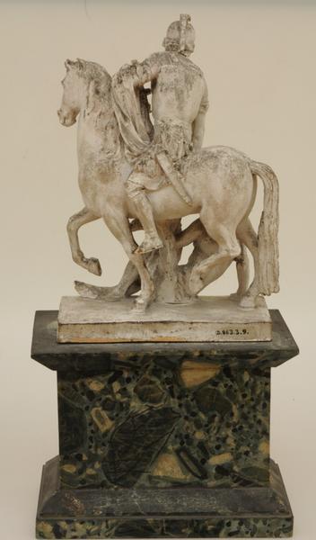 DELAISTRE François Nicolas (sculpteur) : Saint Martin à cheval