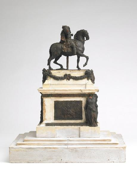 Maquette pour la statue équestre de Louis XV_0