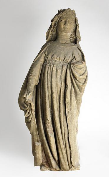 Vierge de l'Annonciation ; Vierge folle (dit traditionnellement)_0