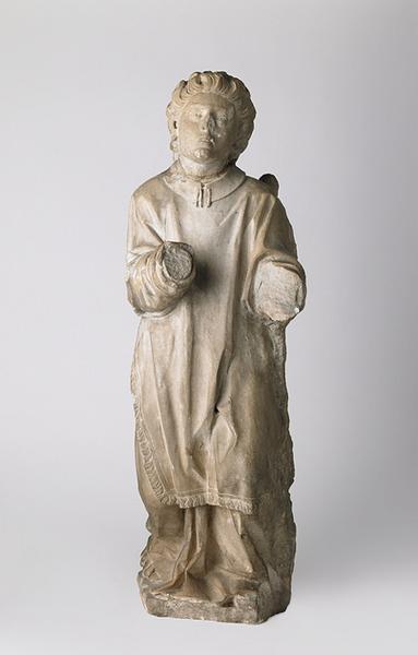 anonyme (sculpteur) : Archange Gabriel