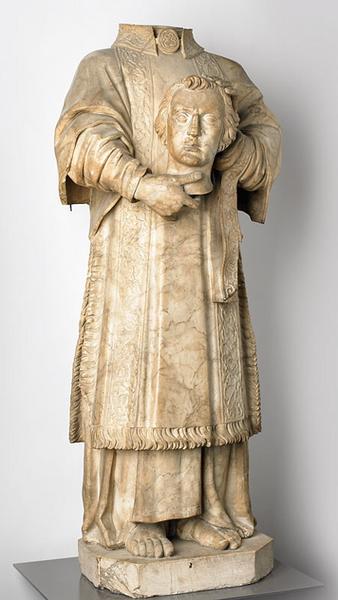 LULIER (dit), ARNOUX Claude (sculpteur) : Saint Ferjeux