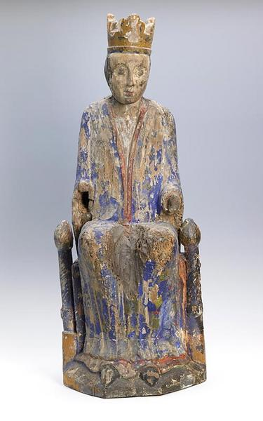 Vierge assise_0