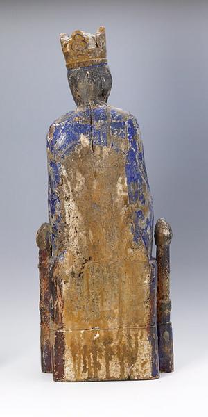 anonyme (sculpteur) : Vierge assise