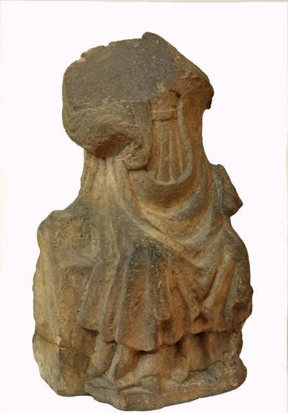 anonyme (sculpteur) : Vierge assise (?)