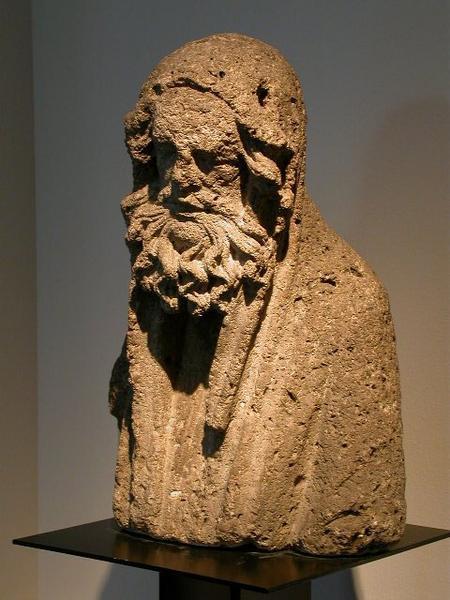 anonyme (sculpteur) : Prophète (Elie ou Samuel)