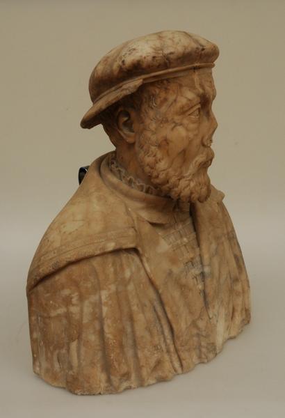 LULIER (dit), ARNOUX Claude (attribué à) (sculpteur) : Buste dit de Guillaume FAREL