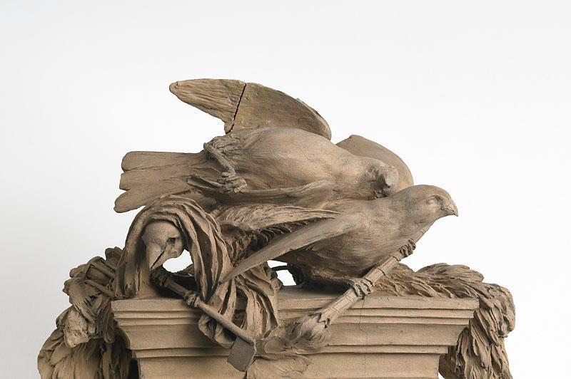 CLODION (dit), CLAUDE Michel (sculpteur) : Maquette du mausolée de Fifi