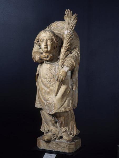 SCHERRIER Michel (attribué à) (sculpteur) : Saint Ferréol
