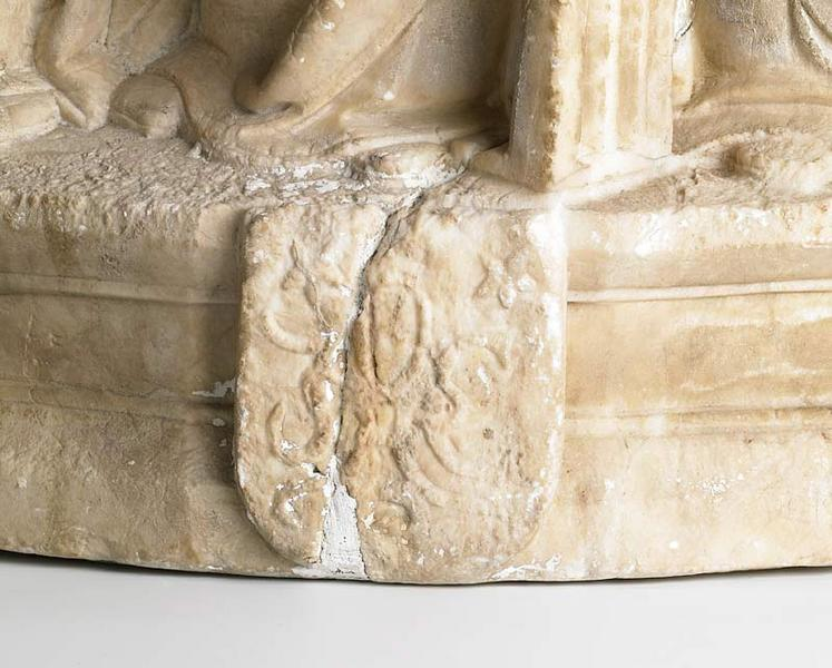 anonyme (sculpteur) : Sainte Sophie et ses trois filles, Foi, Charité et Espérance