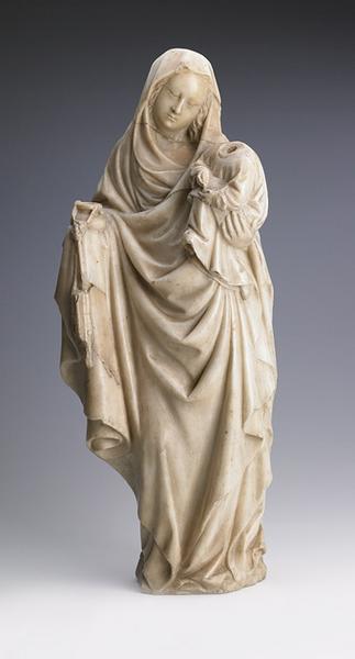 La Vierge à l'encrier et l'Enfant écrivant