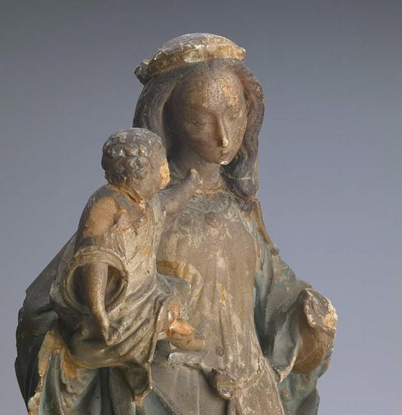 anonyme (sculpteur) : Vierge à l'Enfant