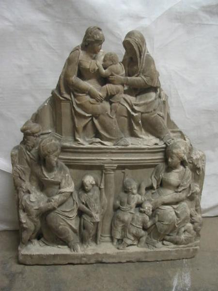anonyme (sculpteur) : Sainte Parenté