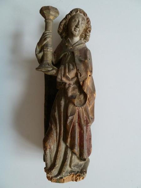 anonyme (sculpteur) : Ange céroféraire