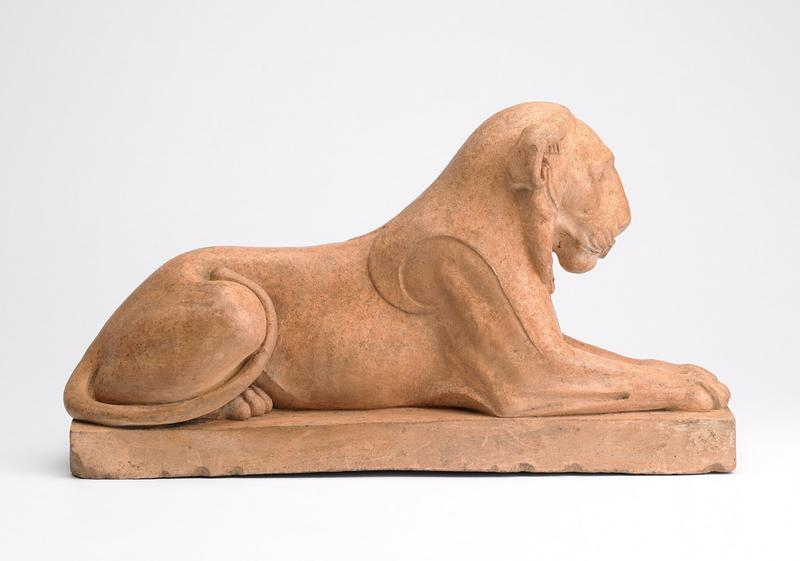 DELAISTRE François Nicolas (sculpteur) : Lion égyptien du Capitole