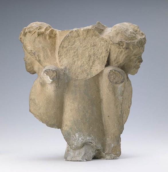 anonyme (sculpteur) : Buste de Christ en croix