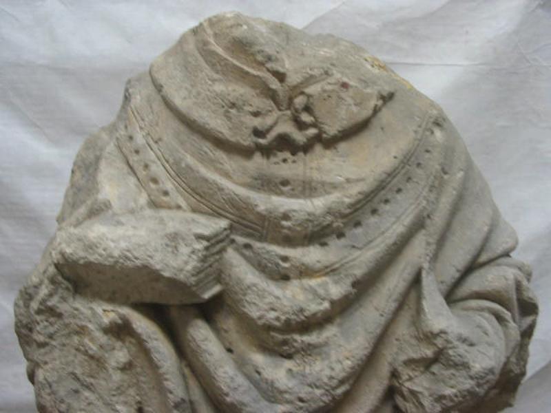 anonyme (sculpteur) : Evêque