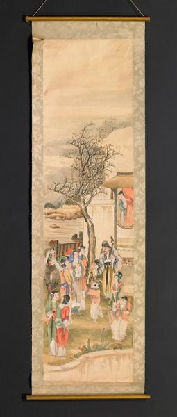 Prédication dans la cour d'une maison chinoise_0