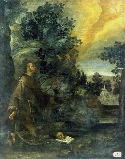 anonyme : Saint François d'Assise recevant les stigmates