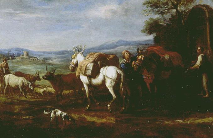 Le départ des mules