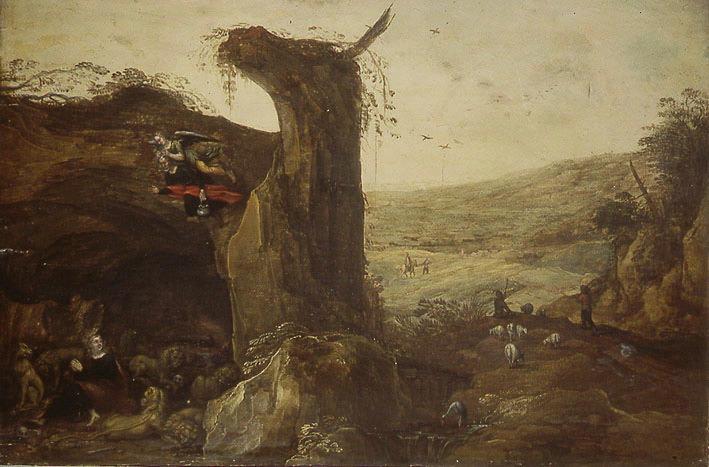 Daniel dans la fosse aux lions