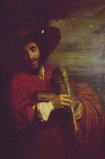 anonyme, DYCK Antoon van (d'après) : Le Joueur de cornemuse (François Langlois), Le Joueur de musette (autre titre)