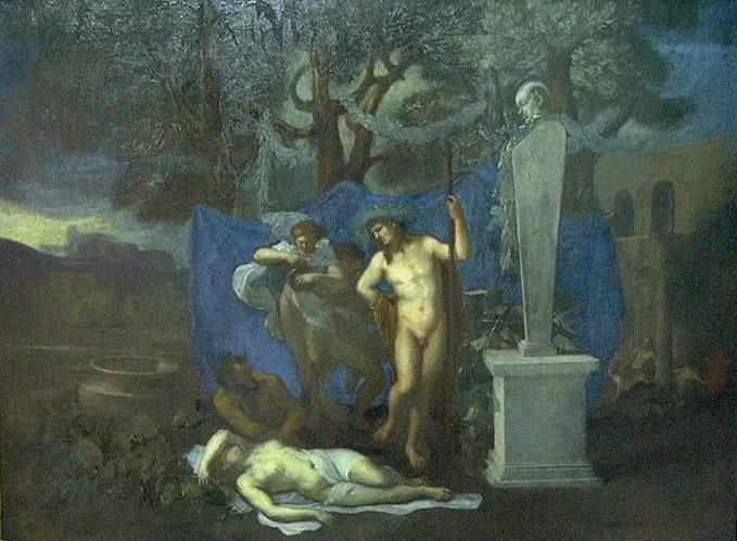 Bacchus et Erigone