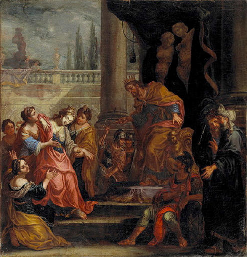 L'évanouissement d'Esther devant Assuérus_0