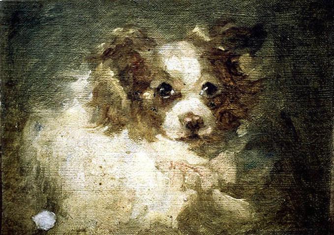 NOTERMAN Emmanuel (attribué à) : Tête de chien