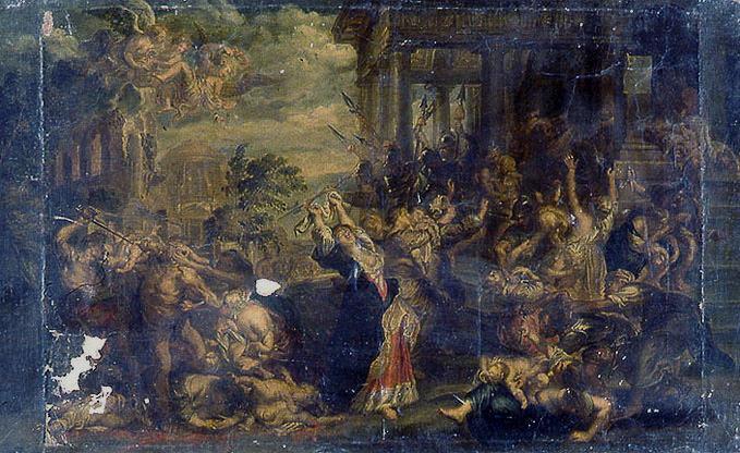 anonyme, RUBENS Peter Paul (d'après) : Massacre des Innocents