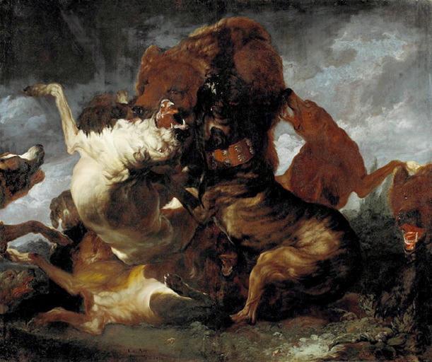 Combat d'ours et de chiens_0