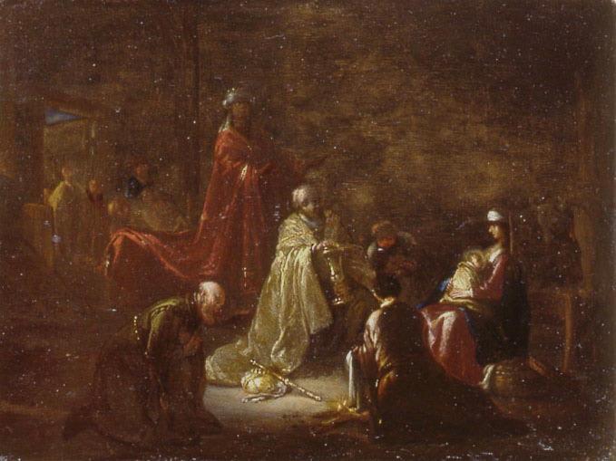 WET Jacob Willemsz de, WET le Vieux (dit) : Adoration des Mages