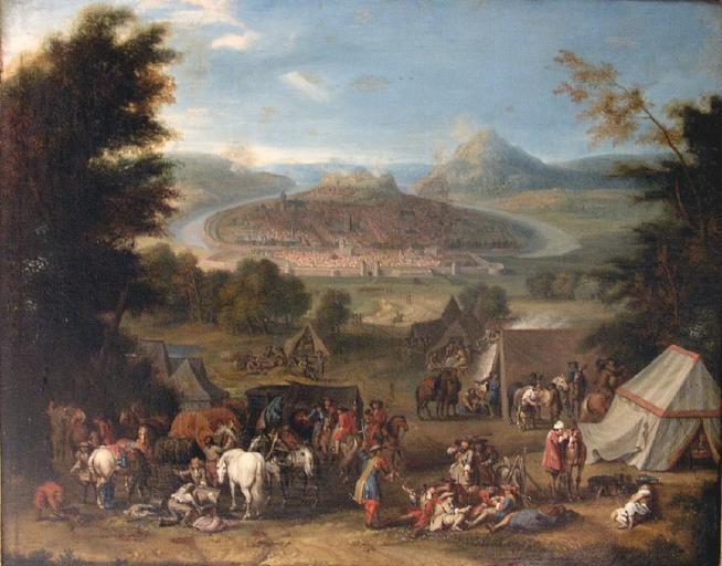Le siège de Besançon par Louis XIV