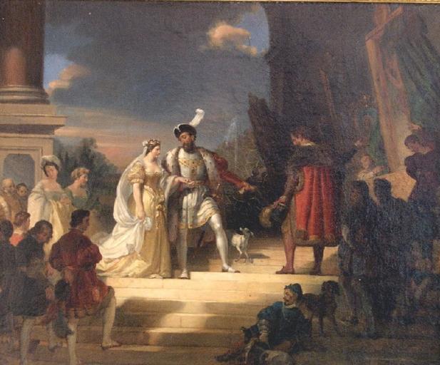 François 1er et le Primatice_0