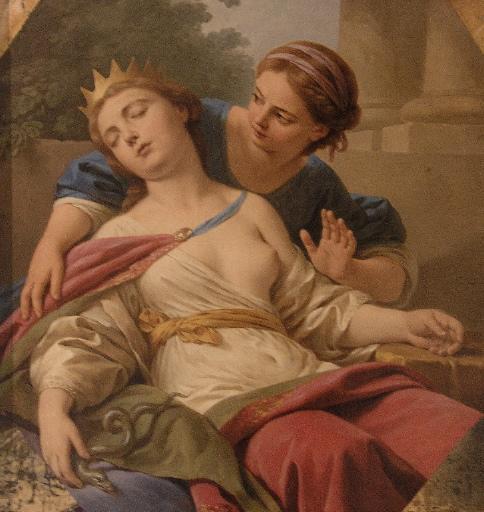 Cléopâtre mourante Cléopâtre se donnant la mort_0