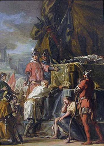 La mort de Du Guesclin