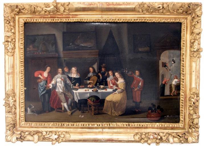 Scène de banquet