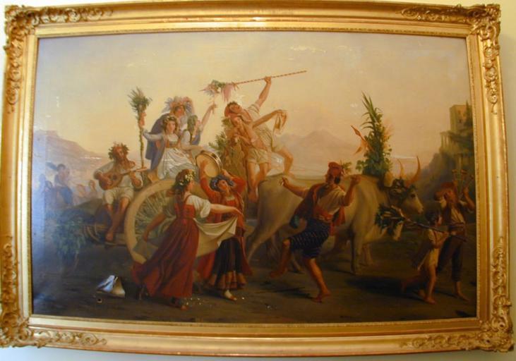Le retour de la fête de la madone de l'Arc, près de Naples_0