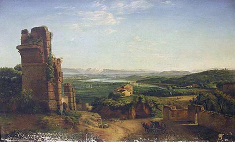 Aqueducs romains à Saint Just près de Lyon