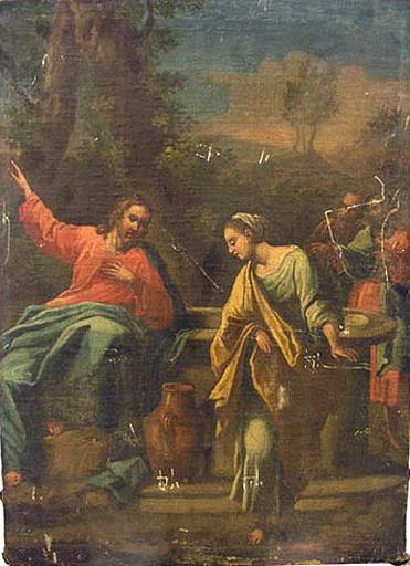 Jésus Christ et la Samaritaine_0