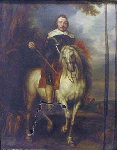 Portrait équestre de Don Francisco de Moncada (1586 - 1635), marquis d'Aytona_0