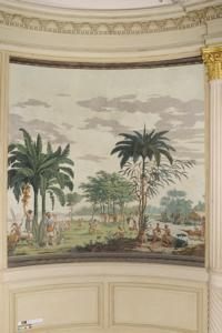 Les sauvages de la mer du Pacifique ; les voyages du capitaine COOK (titre d'usage) ; Paysages indiens (titre d'usage)_0