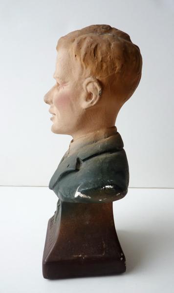 NADAL Fr (sculpteur) : Charles Lindbergh