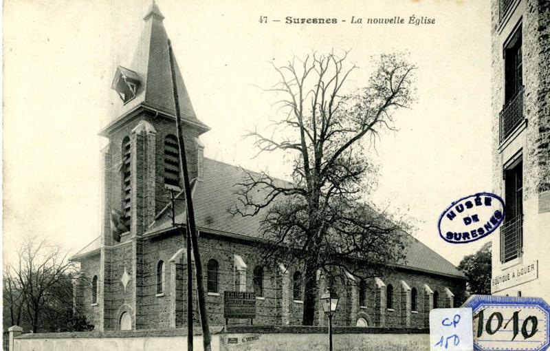 Suresnes, La nouvelle église